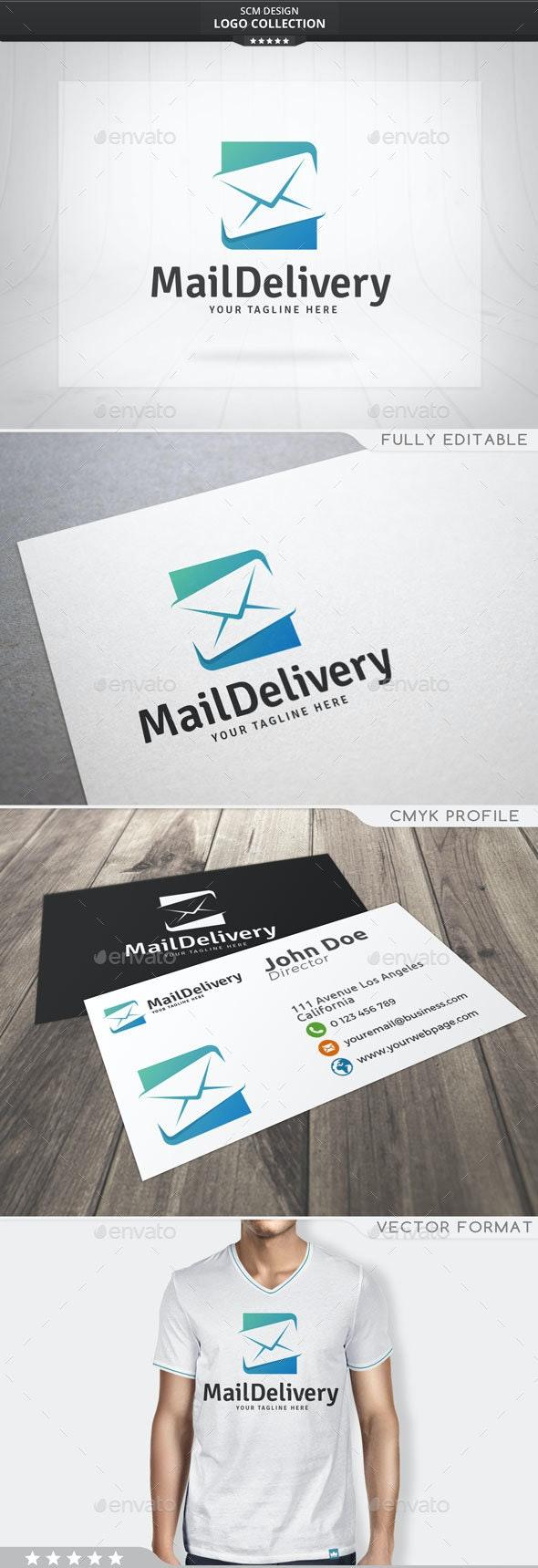 Mail Delivery Logo - Symbols Logo Templates