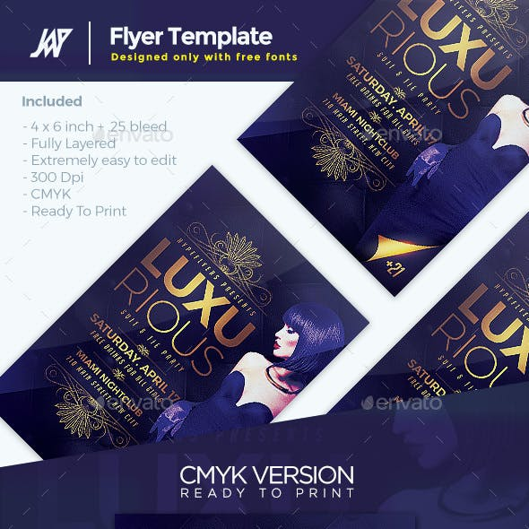 Luxurious Elegant Flyer Template