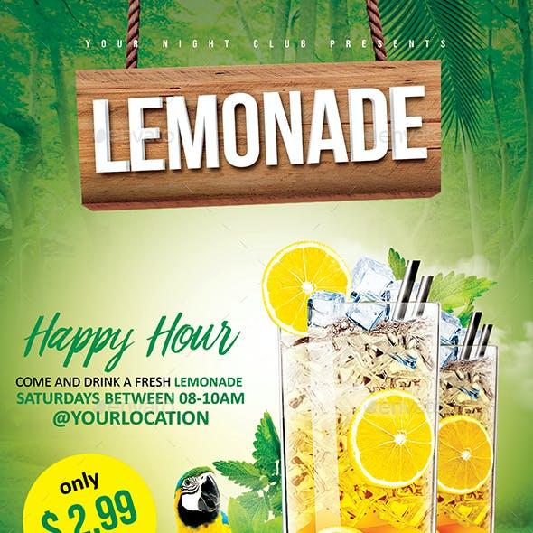Lemonade Happy Hour
