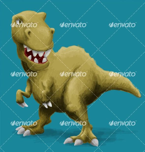 Tyrannosaurus Rex - Animals Illustrations