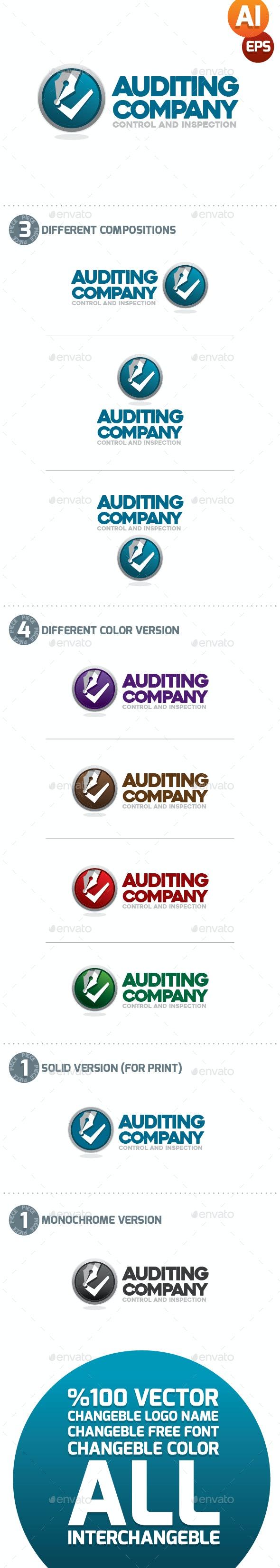 Auditing Company Logo - Company Logo Templates
