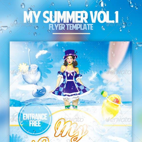 My Summer Flyer Template