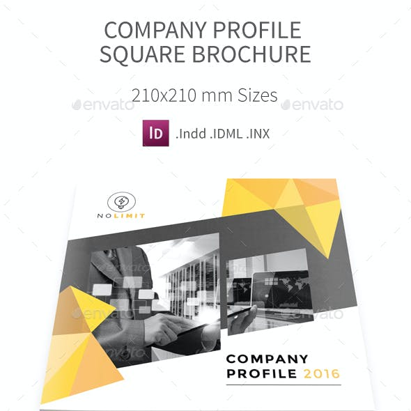 Company Profile Square Brochure 2016
