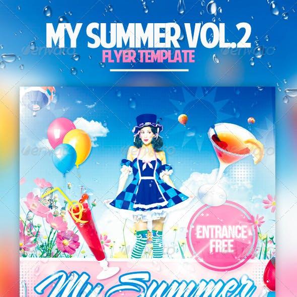 My Summer Vol.2 Flyer Template