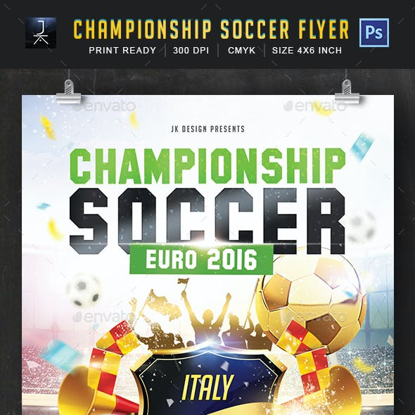 Championship soccer 2016