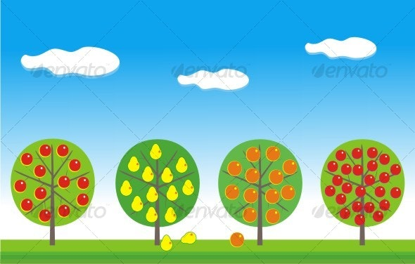 Fruit garden - Flowers & Plants Nature