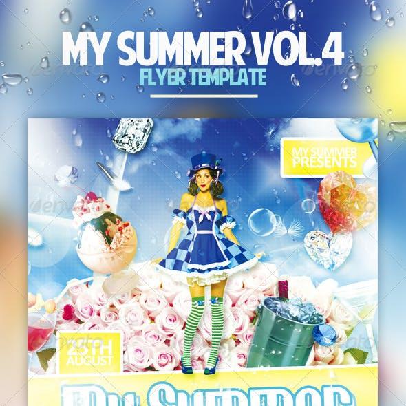 My Summer Vol.4 Flyer Template