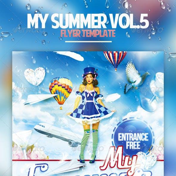 My Summer Vol.5 Flyer Template