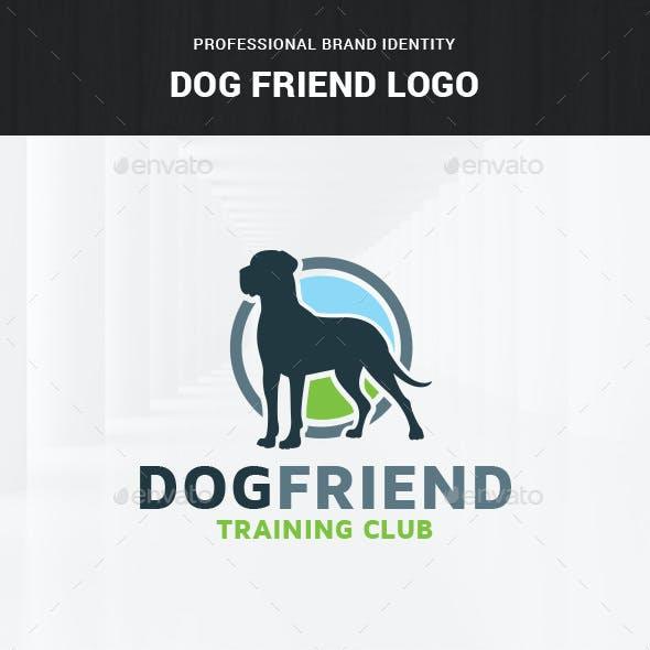 Dog Friend Logo Template