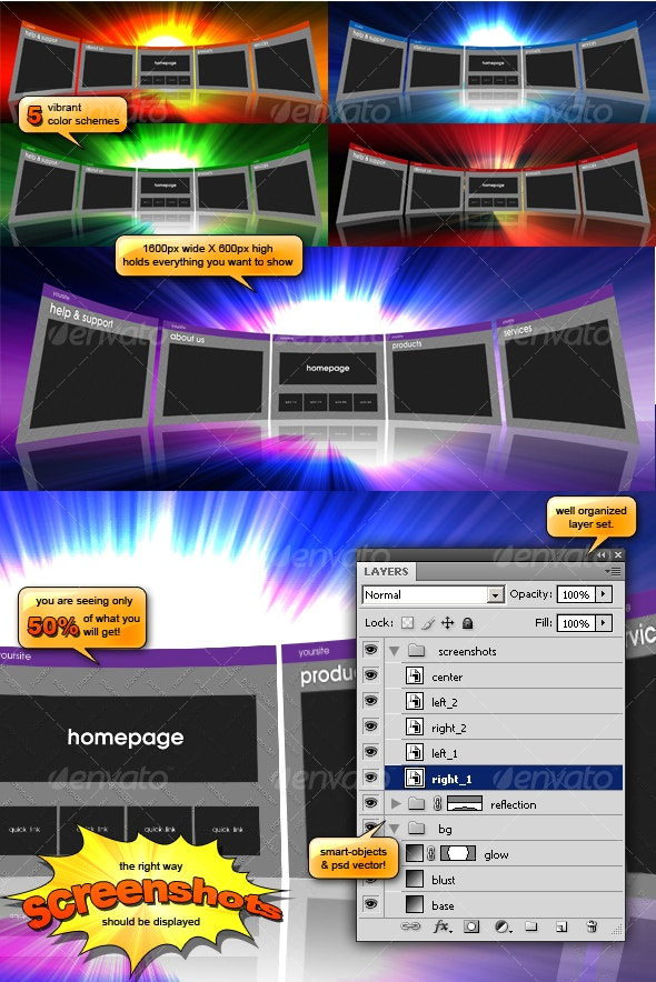 preview BLAST - Backgrounds Graphics