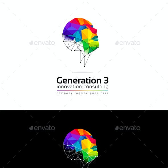 Generation 3 logo template