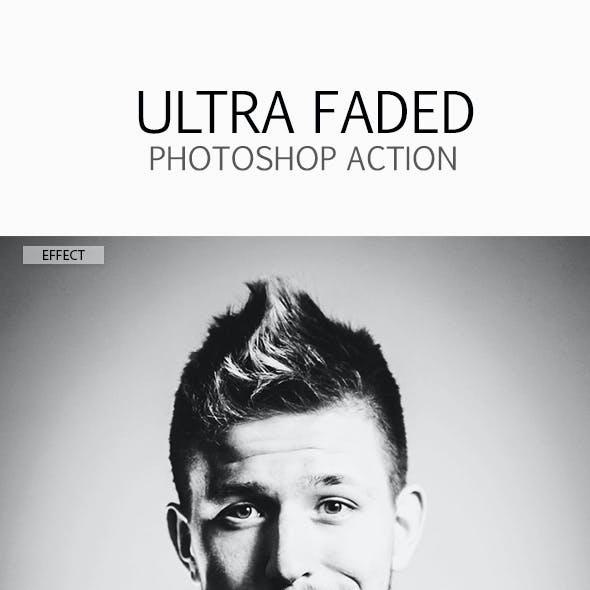 Faded Photographer Graphics, Designs & Templates