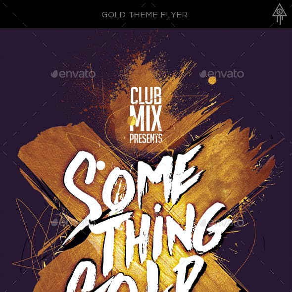 Something Gold Flyer