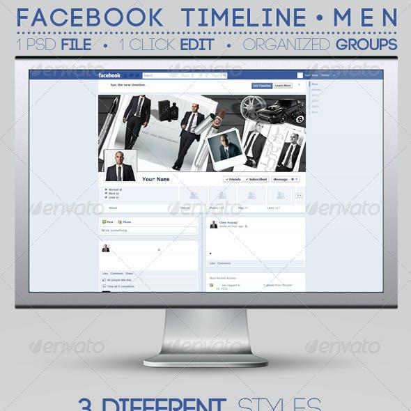 Men's Facebook Timeline Covers