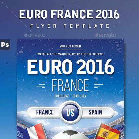 Euro France 2016 Flyer
