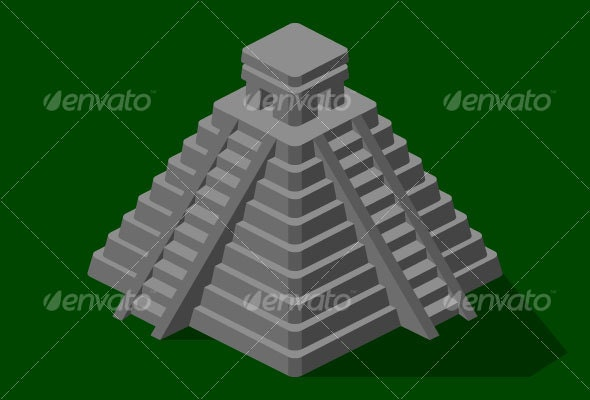 Mayan Temple - Buildings Objects