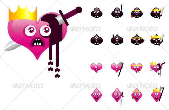 Playing Card Characters - Miscellaneous Characters