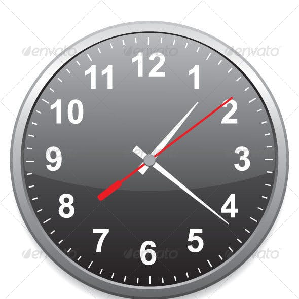 Generic School or Office Clock