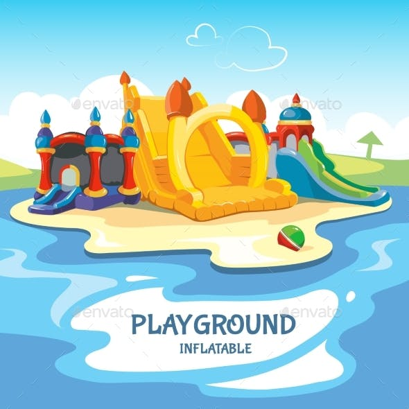 Inflatable Castles Playground