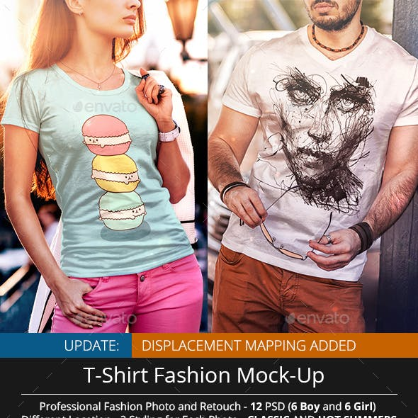 T-Shirt Fashion Mock-Up