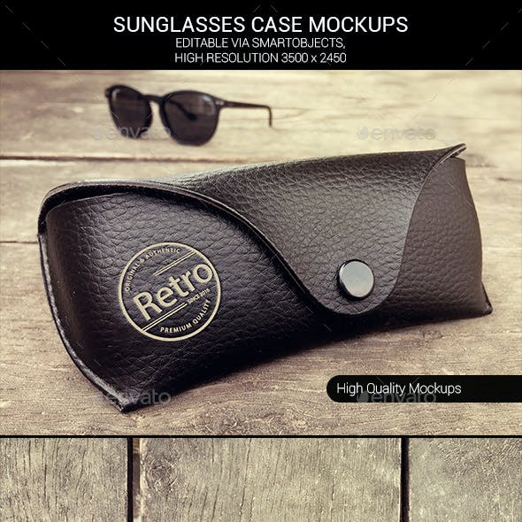Sunglasses Case Mockups