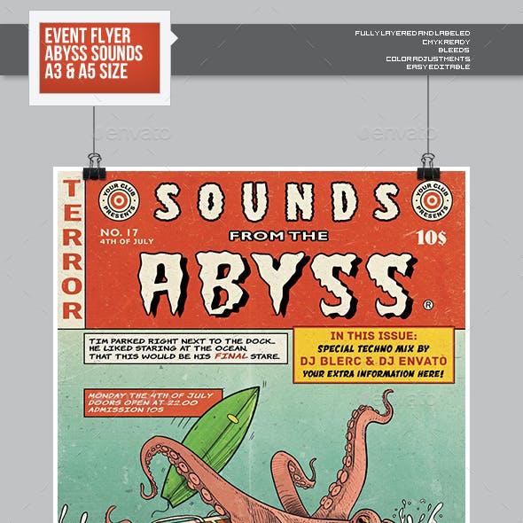 Flyer - Poster: Sounds From The Deep