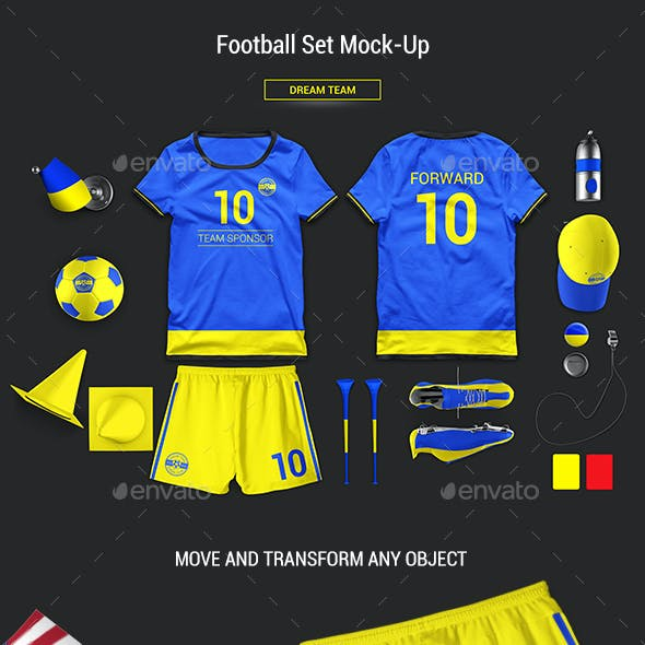 Football Set Mock-Up