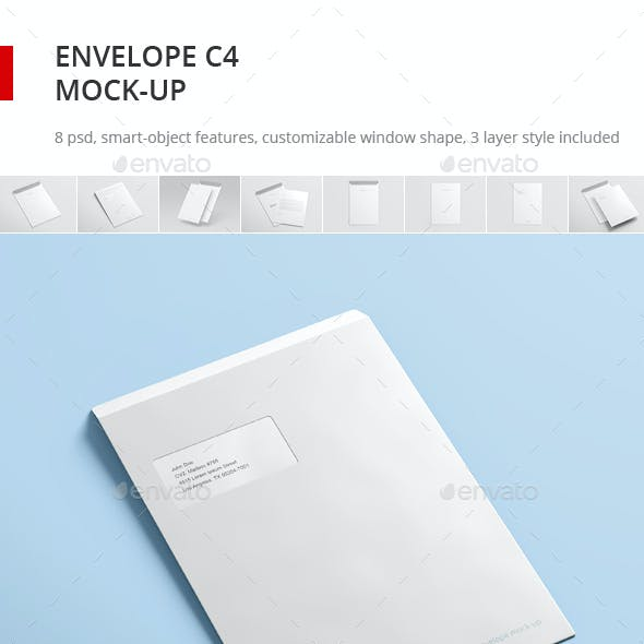 Envelope C4 Mock-up