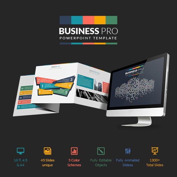 Business Pro:  PowerPoint Professional Business Template