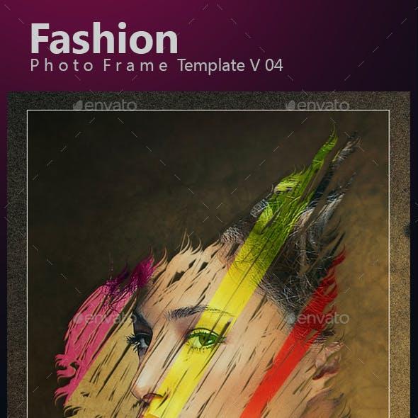 Fashion Photo Frame Template v04