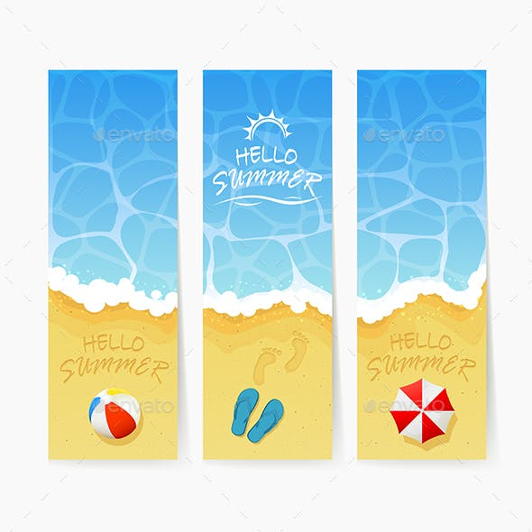 Beach Summer Cards