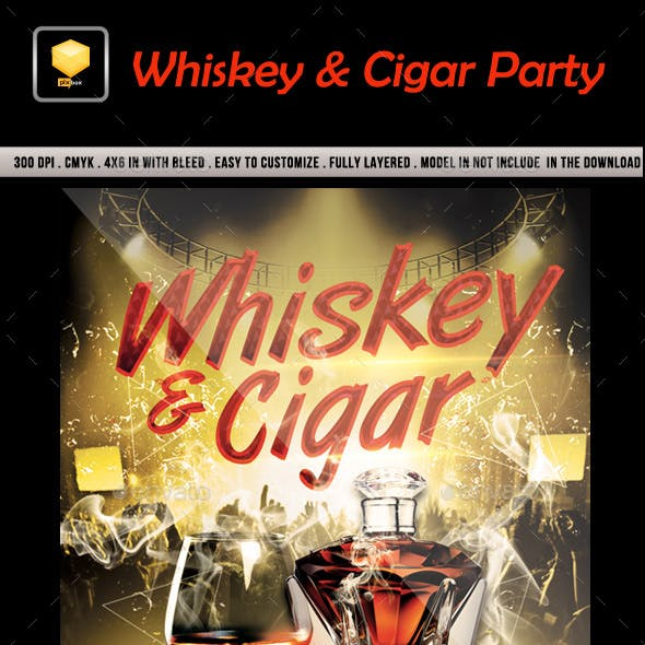 Whiskey & Cigar Party