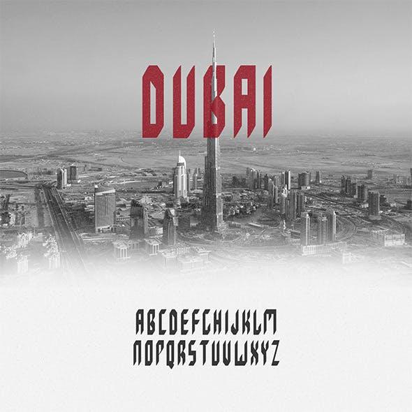 DUBAI Typeface