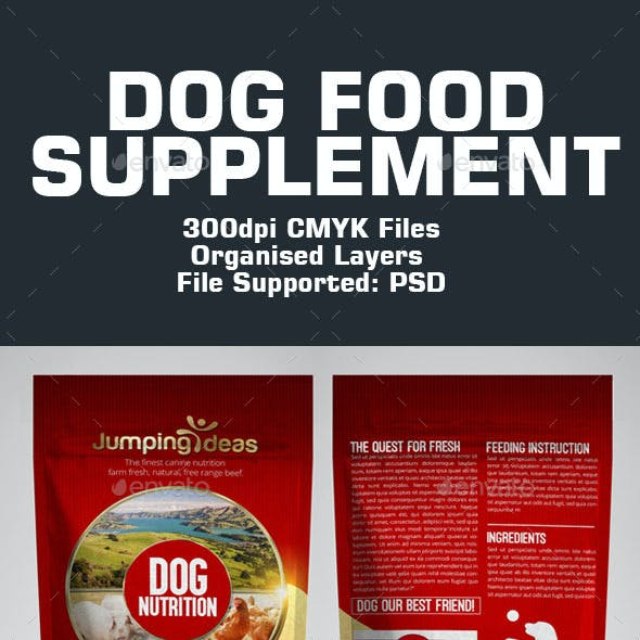 Dog Food Template
