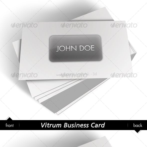 Vitrum Business Card