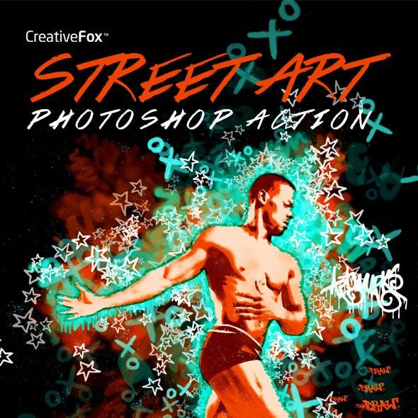 Street Art - Graffiti Creator Photoshop Action
