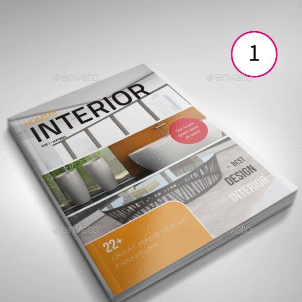 Magazine Bundle 03   4 Unique Templates