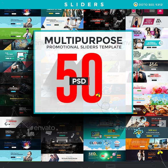 Multipurpose Promotional Silders - 50 Designs