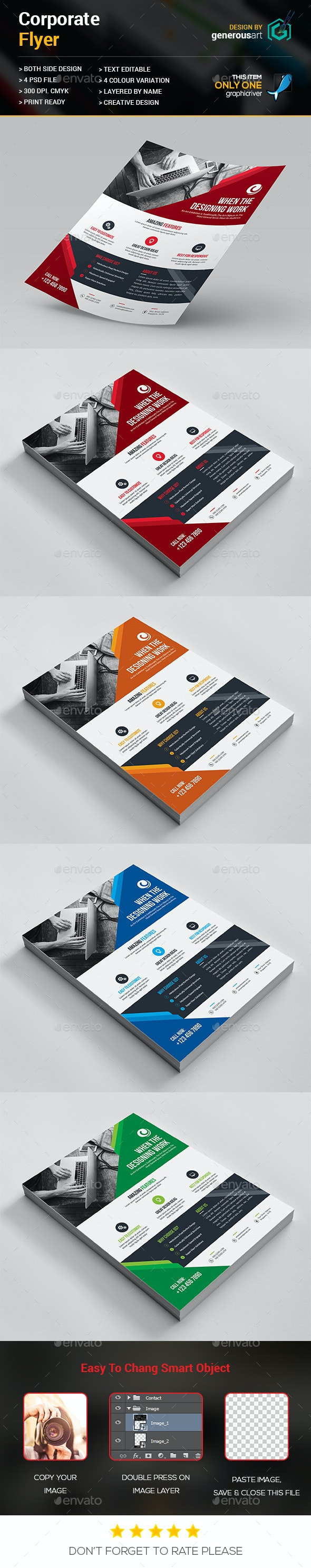 Web Design Flyer - Corporate Flyers