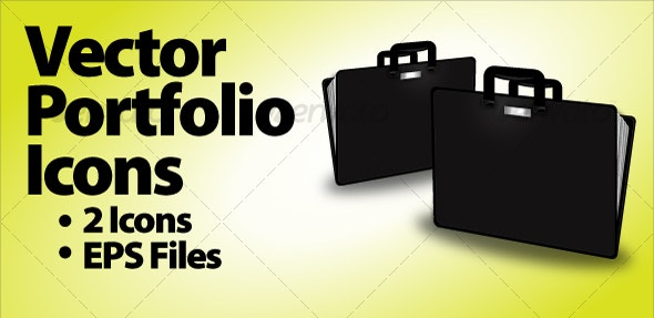 Vector Portfolio Icons - Business Conceptual