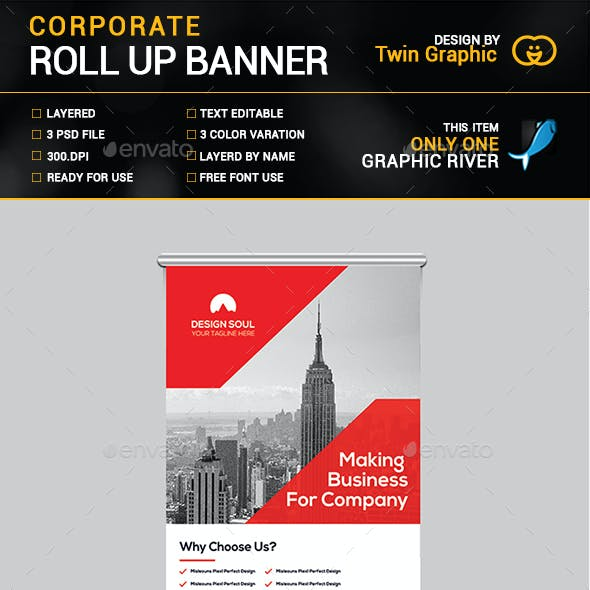 Corporate Roll up Design.