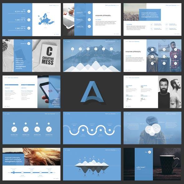 Alpha Google Slides