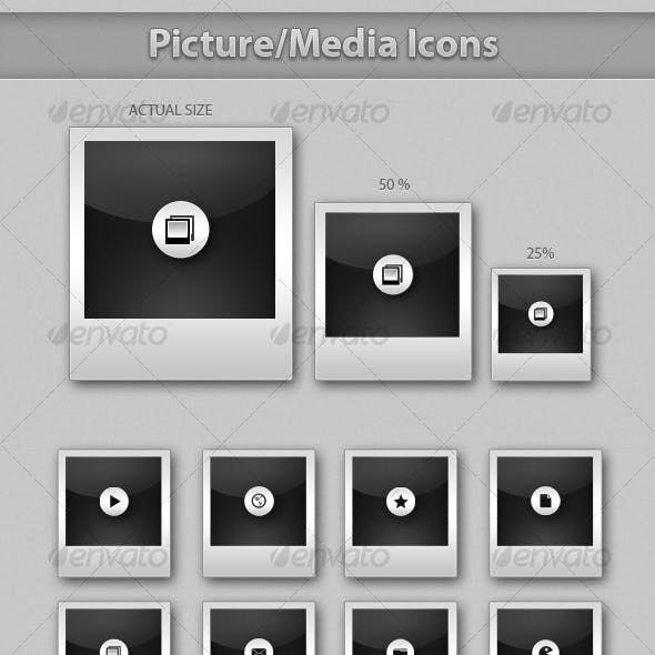 Picture/Media Icons