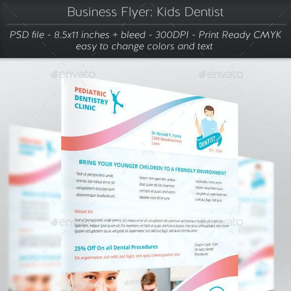 Business Flyer: Kids Dentist
