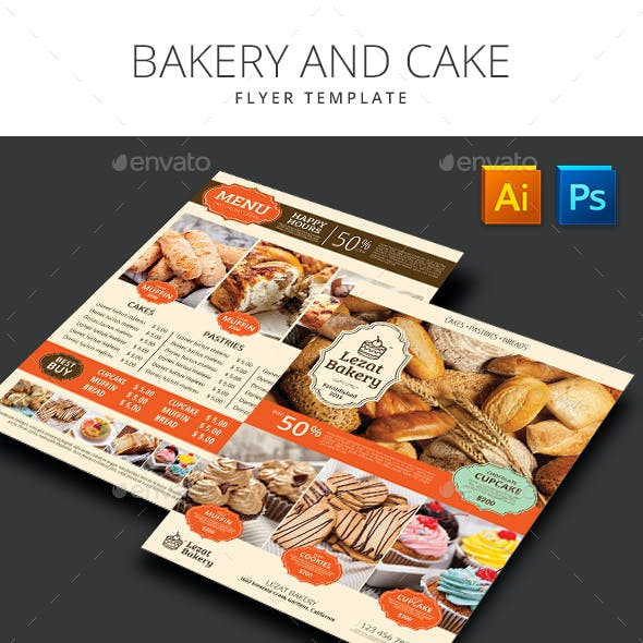 Bakery and Cake