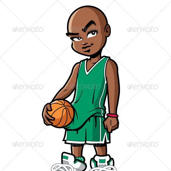 Basketball Player with Attitude