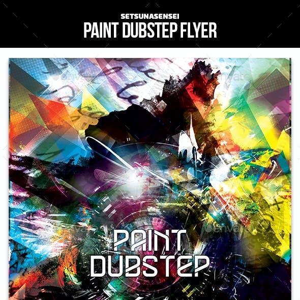 Paint Dubstep Flyer