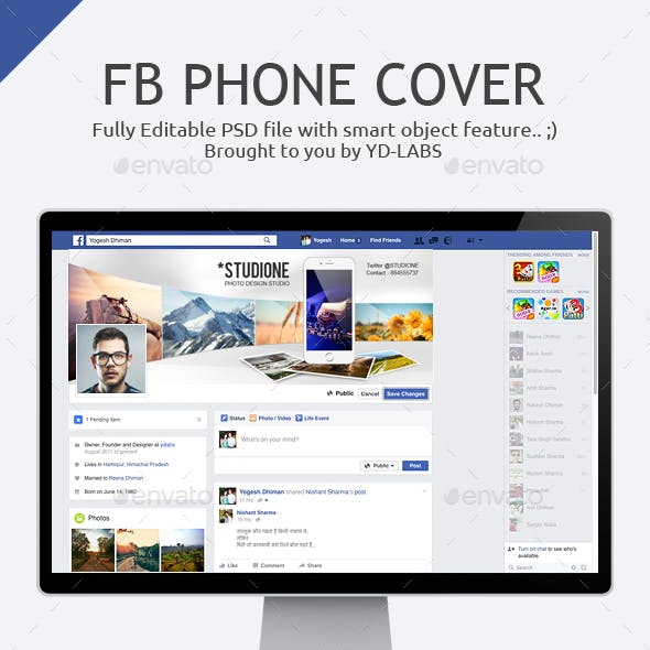 FB Phone Cover
