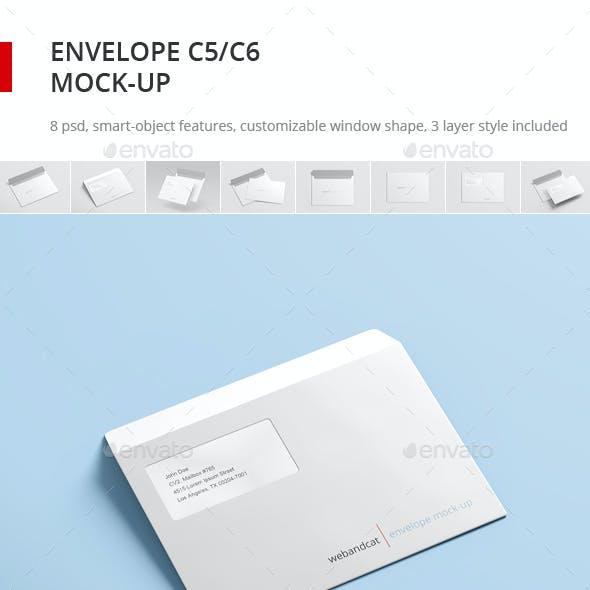 Envelope C5 / C6 Mock-up