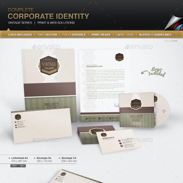 Corporate Identity - Vintage Series